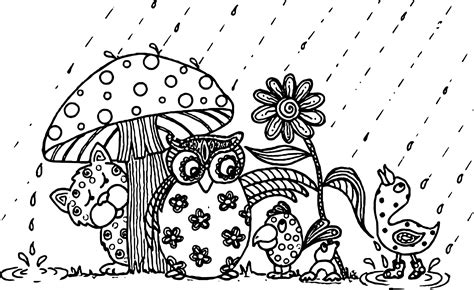 coloring pages of may flowers april showers bring may flowers animal april coloring page