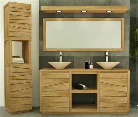 meuble salle de bain teck solde meuble salle de bain belair l160 en teck
