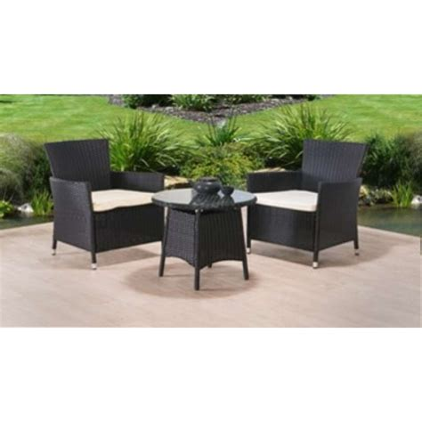 2 Seater Patio Set by Marrakech 2 Seater Bistro Rattan Set