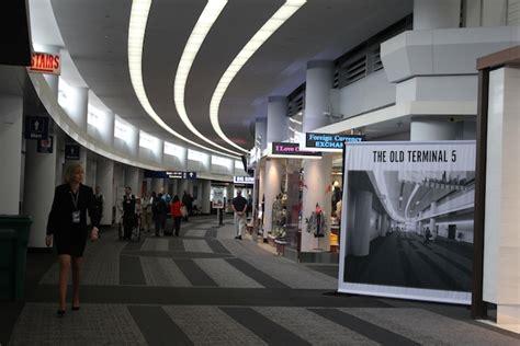 ohare international airport terminal 5 arrivals o hare international terminal s luxury rehab unveiled o