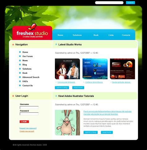 drupal themes web design web design drupal template 25219