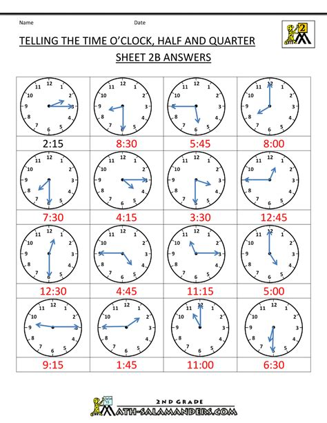 Jam Dinding Ontime 767 Football time ks2 worksheets worksheets for all and