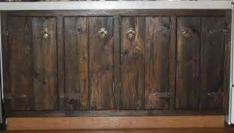 Rustic Kitchen Cabinet Doors Rustic Custom Cabinets Frames And Doors Only
