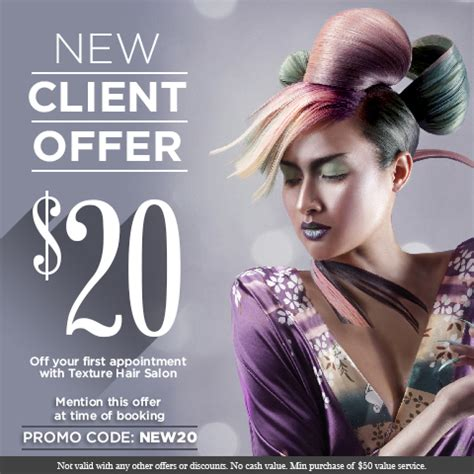 new year hair promotion promotions texture hair salon