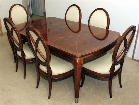 Thomasville Bogart Bel Air Rectangular Dining Table 6 Bel Air Dining Table