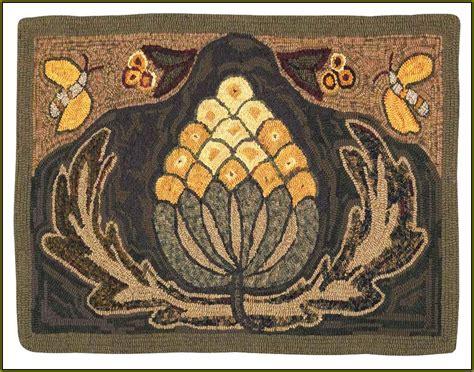 primitive rug hooking patterns free home design ideas