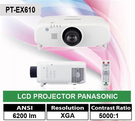 Harga Jual Panel Lcd by Jual Lcd Projector Panasonic Pt Ex610 Jual Lcd Infocus