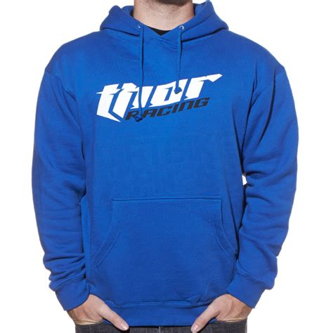 Hoodie Thor Roffico Cloth thor racing hoodie royal blue dirtbikexpress