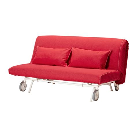 ikea sofa bed couch ikea ps l 214 v 197 s sofa bed vansta red ikea