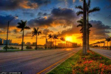 west palm beach sunrise from okeechobee road