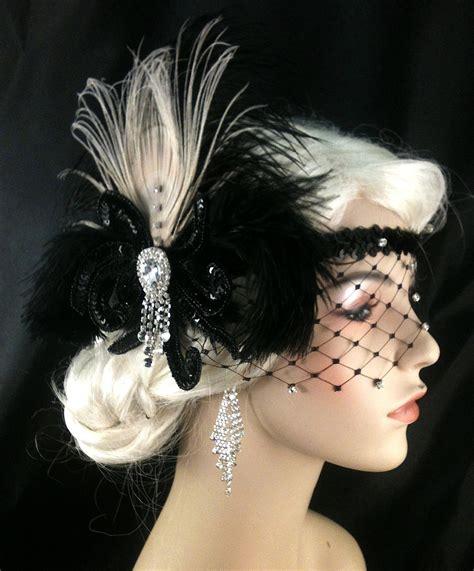 how to make a gatsby headpiece flapper headpiece great gatsby headband downton abbey 1920s