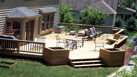 Deck Ideas For Backyard Ground Level Deck Designs Backyard Idea Deck Design House Plans With Decks Mexzhouse