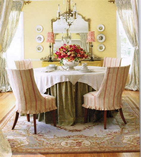 French Country Dining Room | chic french country inspired home real comfort and
