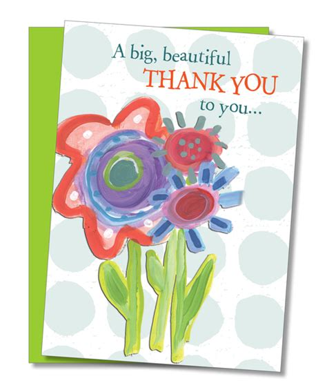 beautiful thank you cards quot big beautiful thank you quot thank you card cool funny gifts