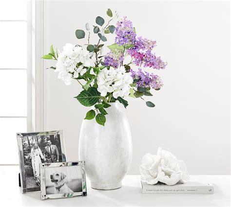 faux silver dollar eucalyptus branch artificial flowers
