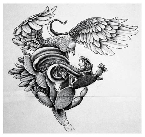 mexican eagle and snake tattoo design mexican eagle search mexican culture