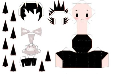 Note Papercraft - deathnote l chibi papercraft by theemptyboy on deviantart