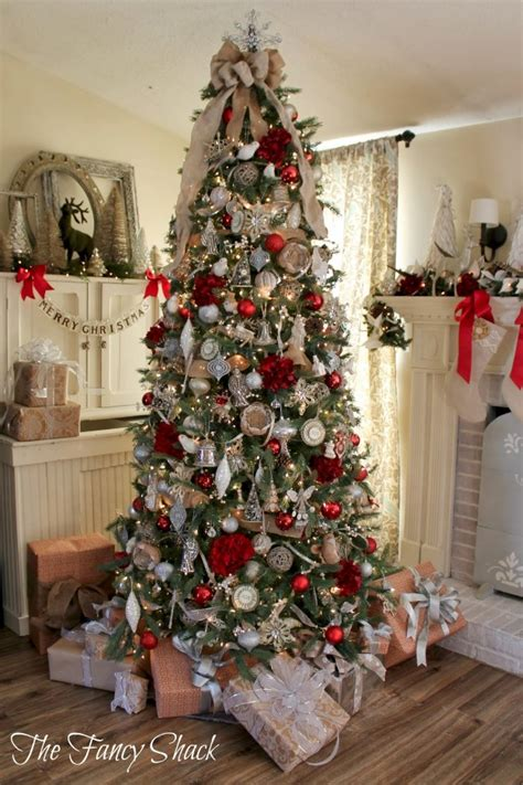 fancy christmas tree decorations ideas