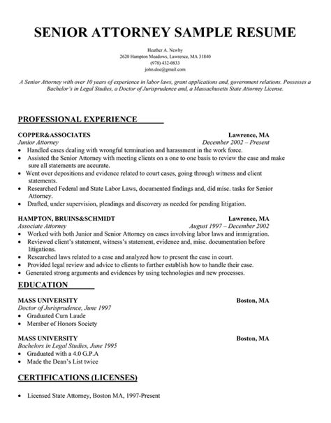 sle attorney resume title attorney resume sales attorney lewesmr
