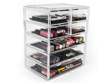 large acrylic makeup storage drawers sorbus acrylic drawer makeup organizer 3 large and 4