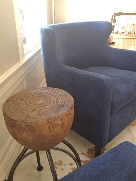 Blue Armchair For Sale by Rosa Beltran Design Pair Of Navy Blue Chairs For Sale