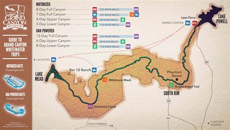 where does the colorado river start and end rafting trip planning guide grand whitewater
