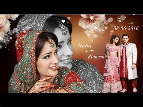 How to Design a Wedding Album Cover Page IN HINDI   YouTube