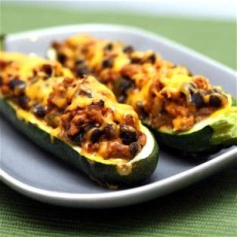 cooking time for stuffed zucchini boats southwestern stuffed zucchini boats food for people