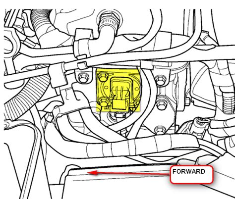 p0340 dodge neon where is the device that checks camshaft timing
