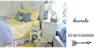 blue and yellow farmhouse bedroom thistlewood farm blue and yellow bedroom ideas joomlus com