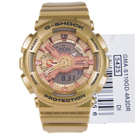Casio G Shock Gma S110gd 4a2 Gold casio g shock gma s110gd 4a2