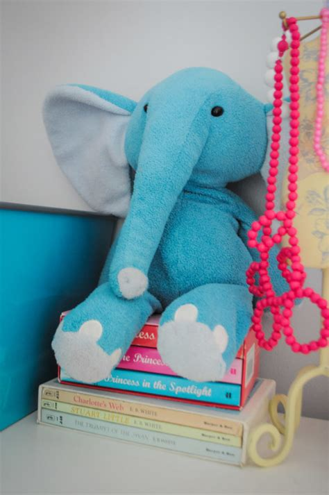 genevieve s bright and modern elephant themed room