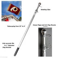 pole for home aluminum 6 flag pole ebay