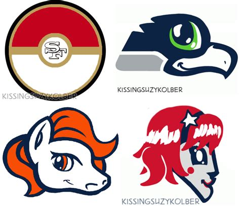 logo anim doodle nfl logos redesigned as anime by draw play dave daily snark