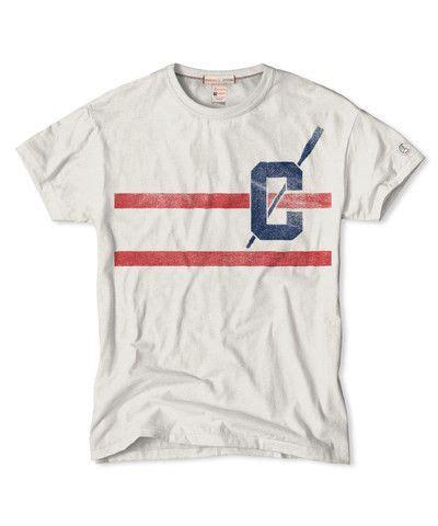 Pf Stripe Tees stripe t shirt in vintage white chion frank