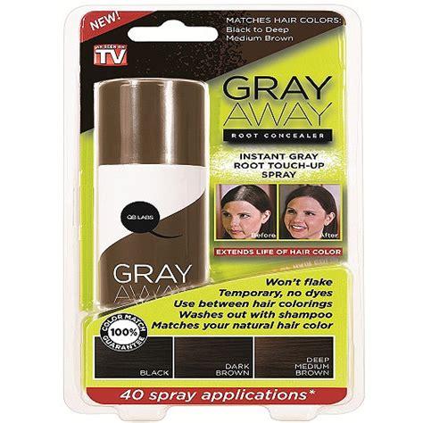 gray away root concealer gray away hair dye as seen on gray away root concealer review