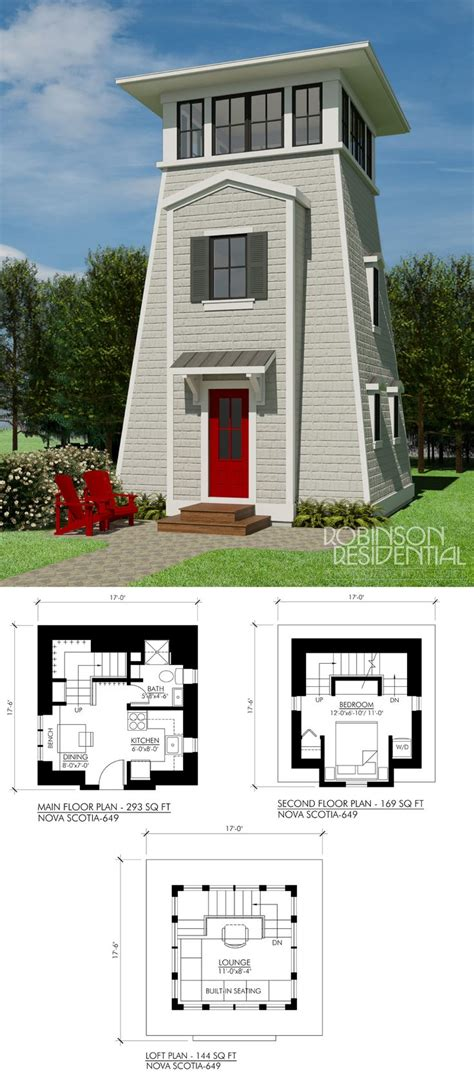 Small Homes Scotia Best 25 Tower House Ideas On