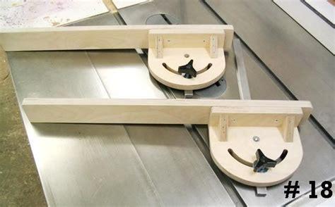 table  miter gauge ideas  pinterest