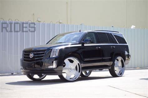 2015 cadillac escalades for sale 2015 cadillac escalade on 30 inch forgiato wheels rides