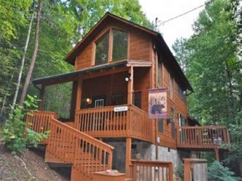 Smoky Mountain Golden Cabins by Creek