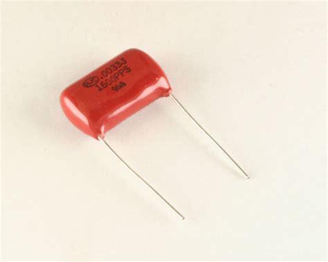 pps capacitor pps 332j1600db hjc capacitor 0 0033uf 1600v polypropylene radial 2020006915