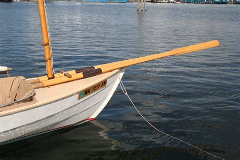 small boat oars stowing oars and spars small boats monthly