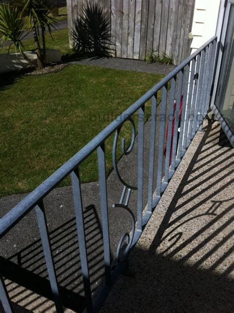 Galvanized Handrail by Handrail Fence Replacement Galvanized Steel 50951