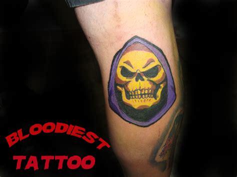 skeletor tattoo skeletor tatting and