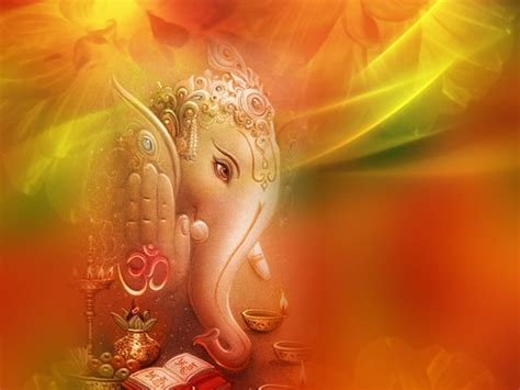 desktop themes hindu gods ganesh backgrounds wallpaper cave