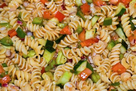 pasta salad italian dressing pasta salad with italian dressing salad recipes healthy