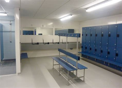 Changing Room by Upgraded Changing Rooms Reopen At Sports Team Bath