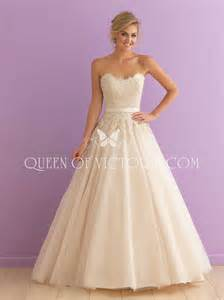 strapless lace bodice tulle ball gown skirt princess