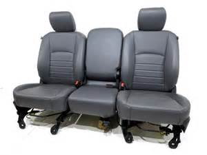 Dodge Ram Replacement Seats Replacement Dodge Ram Oem Front Vinyl Seats With Air Bags