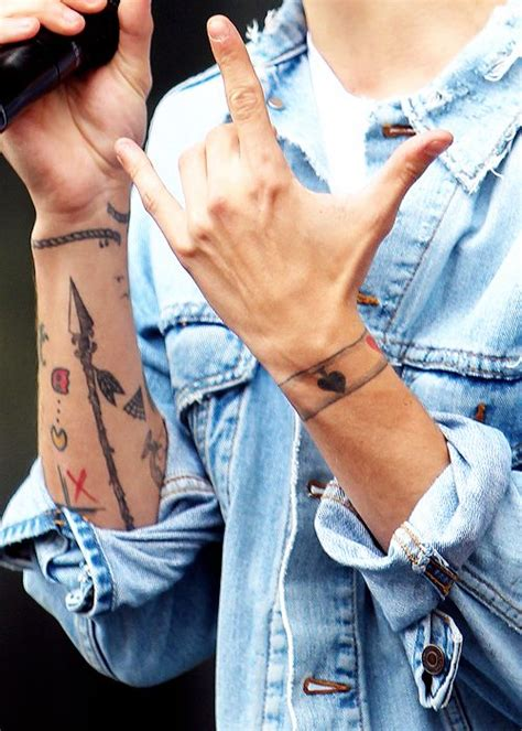 harry styles lou tattoo 1000 images about 1d tattoos on pinterest harry styles